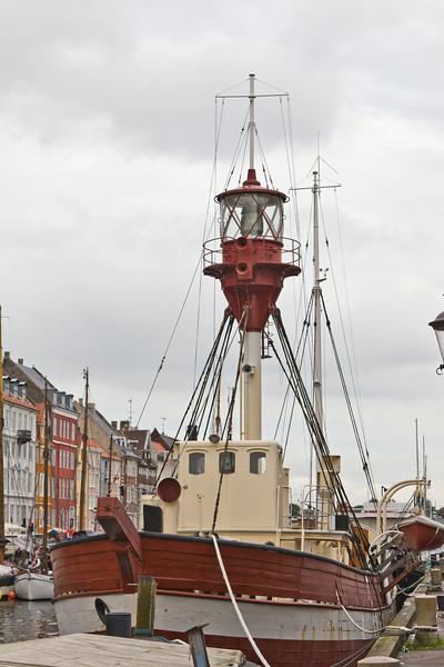 SCANDINAVIA-DENMARK-COPENHAGEN-NYHAVN-LIGHTSHIP XVII