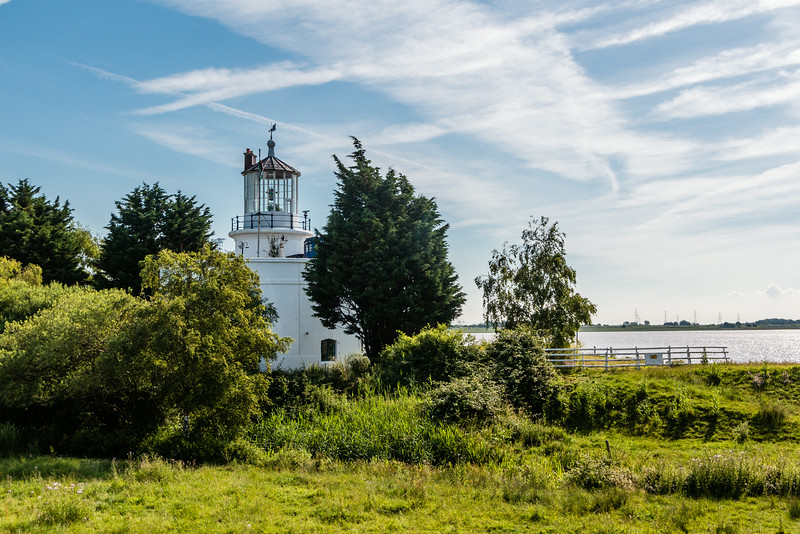 UK-WALES-NEWPORT-WEST USK LIGHTHOUSE