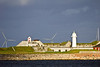 SCANDINAVIA-DENMARK-COPENHAGEN HARBOR-TREKRONE ISLAND-TREKRONER LIGHT