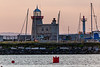 REPUBLIC OF IRELAND-HOWTH-HOWTH HARBOR [L] AND HOWTH PIER [R] LIGHTHOUSES