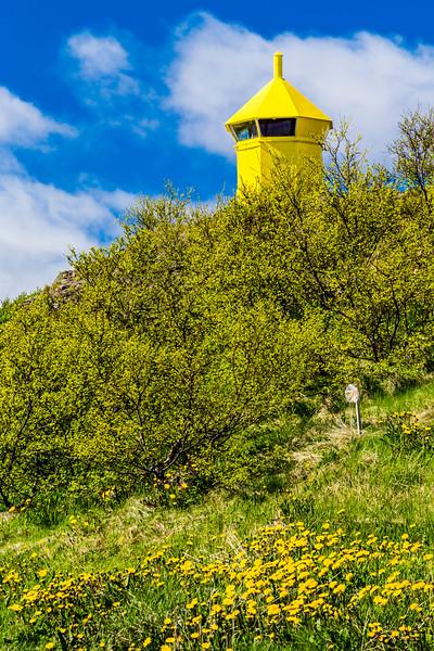 Iceland-Westfjords-Holmavik-Hólmavíkurviti Lighthouse