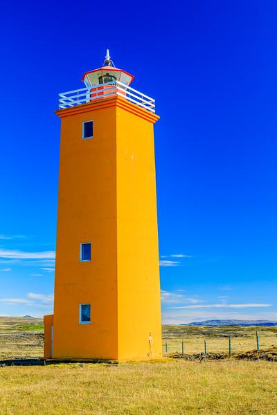 ICELAND-Thorlakshofn-Selvogsviti Lighthouse