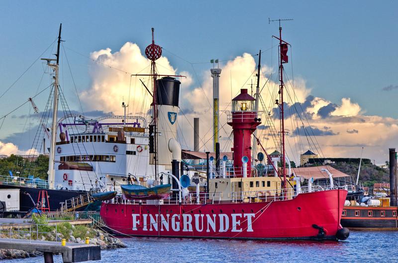 SCANDINAVIA-SWEDEN-STOCKHOLM-FINNGRUNDET LIGHTSHIP