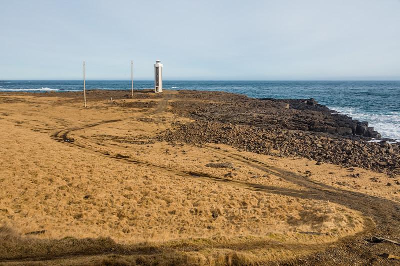 Iceland-Streitishvarf-Streiti lighthouse