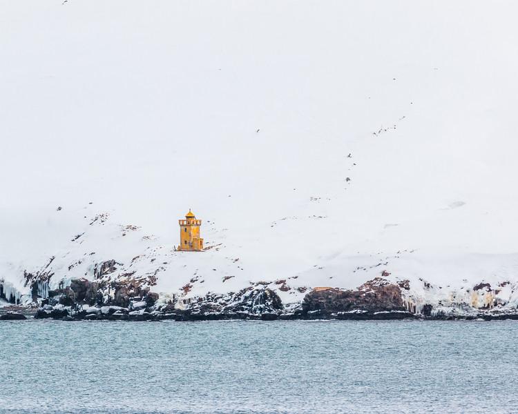 ICELAND-Siglufjörður-Selvíkurnefsviti