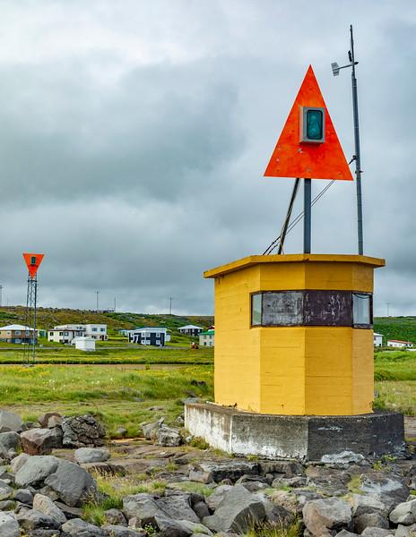 Iceland-Raufarhöfn-Raufarhöfn Front range Lighthouse