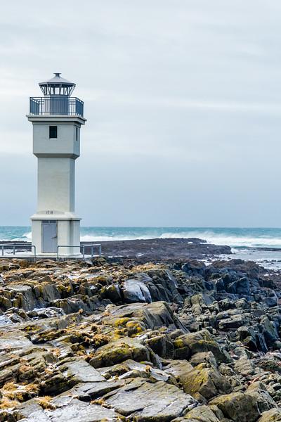 ICELAND-ARKRANES-OLD LIGHTHOUSE