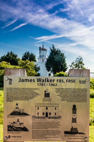 UK-WALES-NEWPORT-WEST USK LIGHTHOUSE
