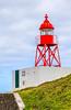 Açores-São Miguel-Porto Delgada-harbor-Santa Clara harbor light