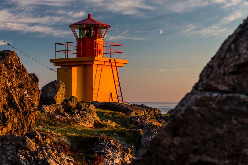 Iceland-Westfjords-Svalvogaviti [Lighthouse]-Lava field