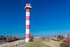 THE NETHERLANDS-HOEK van HOLLAND LIGHTHOUSE-REAR RANGE LIGHT