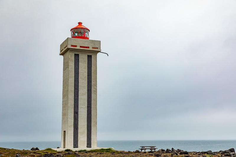 Iceland-Kópasker Lighthouse-Grimshafnartangi