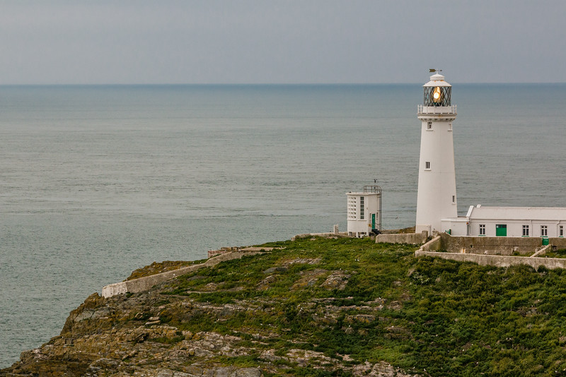UK-WALES-HOLYHEAD-SOUTHSTACK LIGHTHOUSE