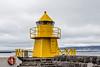 Iceland-Reykjavik harbor lighthouse