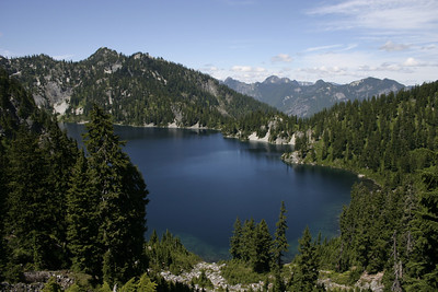 Snow Lake, Cascade mountains, WA