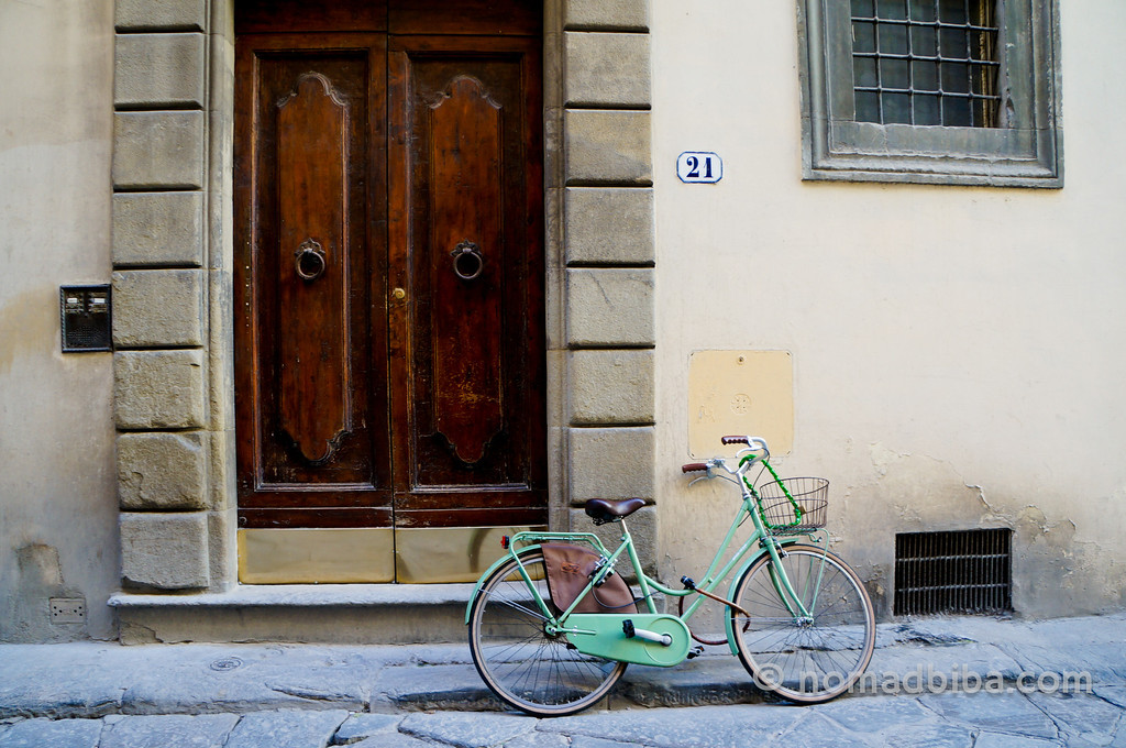 Bike in Florence, Italy