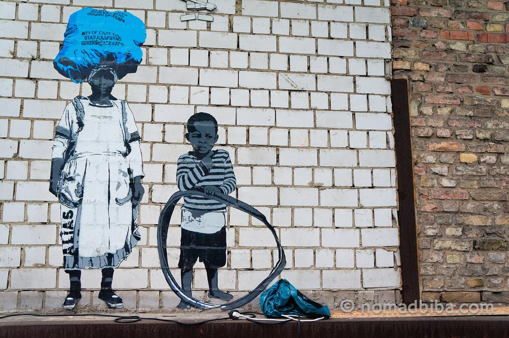 Alias street art in Berlin