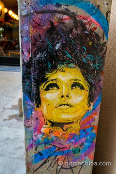 C215 Street art in Barcelona