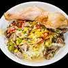 Chicken Maryland, lamb shoulder, and cheesy spicy cabbage #dinner #yummylummy #foodporn #yummy #delicious #instafood #nikon  Video at https://youtu.be/-hZaZlacun8