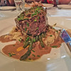 Char-grilled medium rare eye fillet with a classic pepper cream sauce<br /> #maincourse #yummylummy #foodporn #yummy #delicious #instafood #iphone #poorfocus