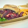 Paleo beef burger