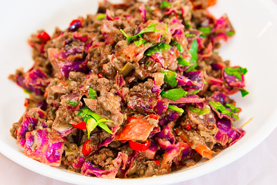 Chilli beef and vegetables