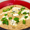 Cauliflower soup with blue cheese