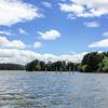 Bollards in Lake Ginninderra