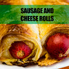 Sausage and cheese rolls