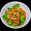Slow cooker lamb forequarter chops and vegetables