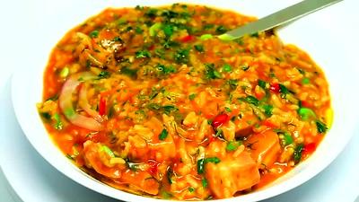 Pressure cooker pork belly rice