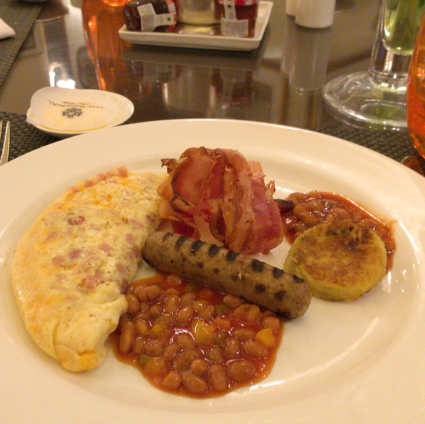 Breakfast at The Imperial
