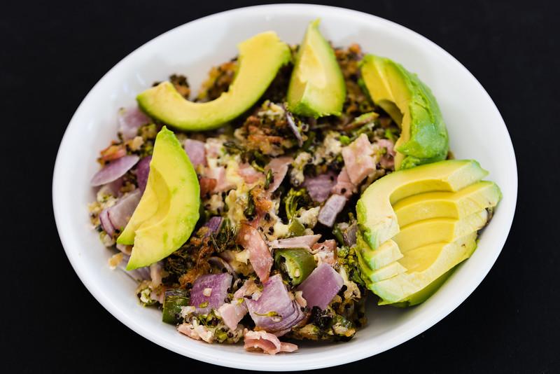 Crunchy crispy cheesy quinoa rice