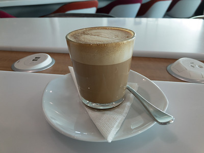 Coffee at Canberra Airport