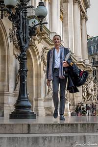 à l'Opéra Garnier
