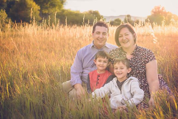 Denver Colorado fall family portrait