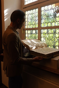 dans le monastère franciscain - 5 mai 2018