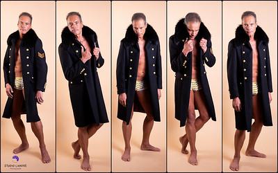 Manteau militaire de la boutique Lords & Fools, 15 rue des Rosiers, 75004 Paris