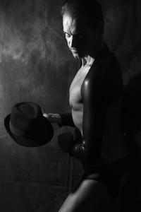 sous-vêtements sexy et chapeau | sexy underwear and hat