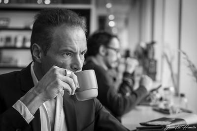 un bon café   a good coffee