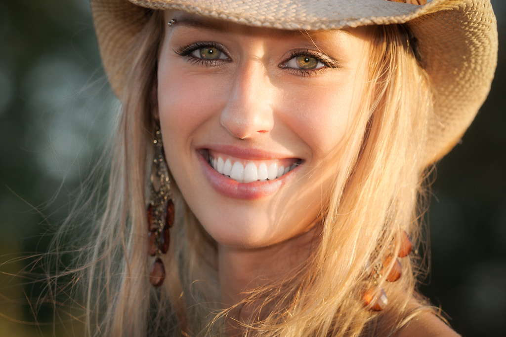 The blonde cowgirl