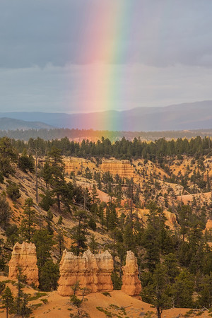 Bryce Canyon National Park rainbow