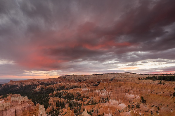 Bryce Canyon National Park sunset