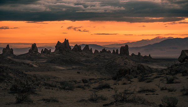 Soldiers of Trona Pinnacles