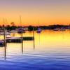 Manatee Docks Sunset