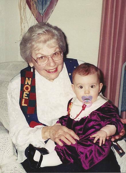 Mom, Caitrin (granddaughter)