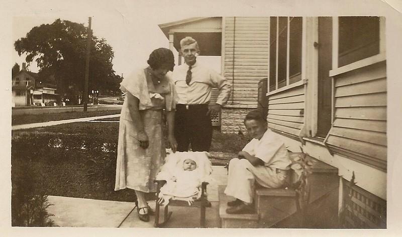 Evelyen, John, Joe (brother) Elizabeth Schweigen