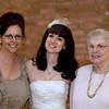 Vicky, Michelle, Mom (Michelle's wedding