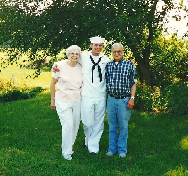 Mom, T.J., Dad