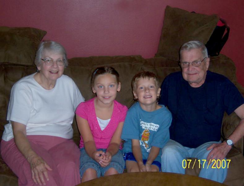 Mom, Claire, Albert, Dad